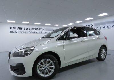 BMW Serie 2 218d Active Tourer Advantage Mineral White Usato Garantito