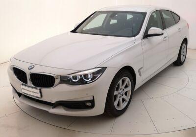 BMW Serie 3 G. T. 318d Gran Turismo Business Advantage auto Mineral White Usato Garantito