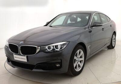 BMW Serie 3 G. T. 318d Gran Turismo Business Advantage auto Mineral Grau Usato Garantito