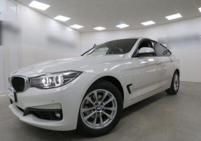 BMW Serie 3 G. T. 318d Gran Turismo Business Advantage auto Alpinweiss III  Usato Garantito