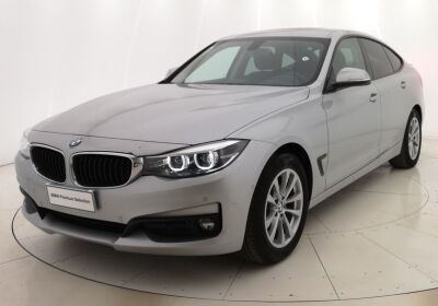 BMW Serie 3 G. T. 318d Gran Turismo Business Advantage auto Glaciersilber Usato Garantito