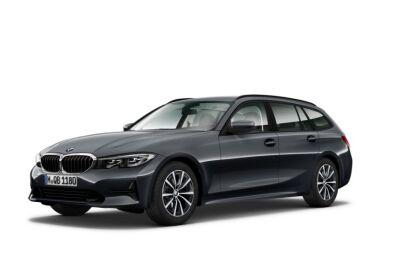 BMW Serie 3 316d Touring mhev 48V Business Advantage auto Mineral Grey Da immatricolare