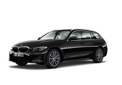 BMW SERIE 3 318d 48V Touring Business Advantage Saphirschwarz Km 0