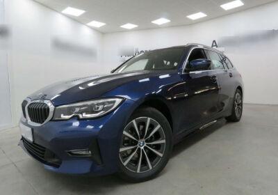 BMW Serie 3 318d Touring Business Advantage aut. Mediterranean Blu Usato Garantito