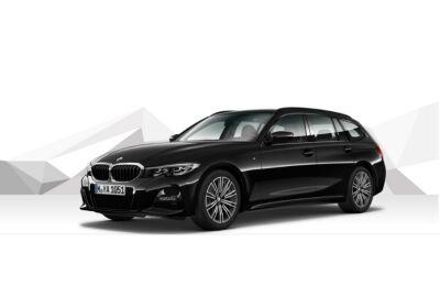 BMW Serie 3 318d Touring Business Advantage aut. Saphirschwarz Km 0