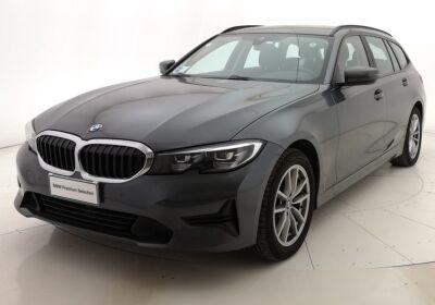 BMW Serie 3 320d touring Business Advantage auto Mineral Grau Usato Garantito