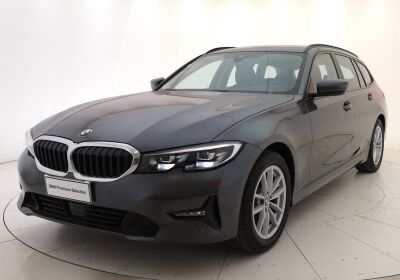 BMW Serie 3 320d touring Business Advantage auto Mineral Grey Usato Garantito