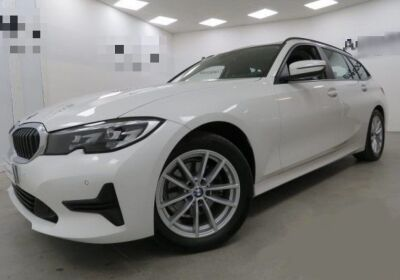 BMW Serie 3 320d touring Business Advantage auto Mineral White Usato Garantito