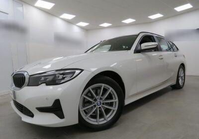 BMW Serie 3 320d touring Business Advantage auto Mineral White Usato Garantito