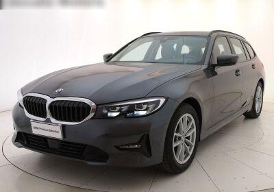 BMW Serie 3 320d touring Business Advantage auto Mineral Grey Km 0