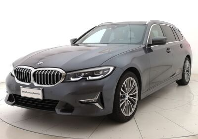BMW Serie 3 320d Touring xdrive Luxury auto Mineral Grey Usato Garantito