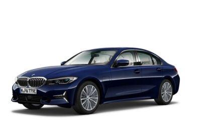 BMW Serie 3 330e Luxury Tanzanite Blue Usato Garantito