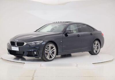 BMW Serie 4 G.C. 420d Gran Coupé Msport Aut. Saphirschwarz Km 0