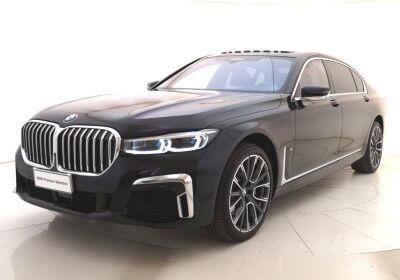 BMW Serie 7 730Ld xdrive auto Carbon Black Usato Garantito
