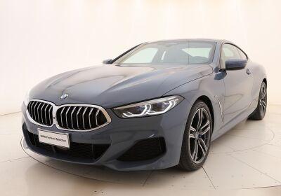 BMW Serie 8 840d Coupè xDrive auto Barcellona Blue Metallic Usato Garantito
