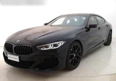 BMW Serie 8 840d Gran Coupe xdrive auto Carbon Black Usato Garantito