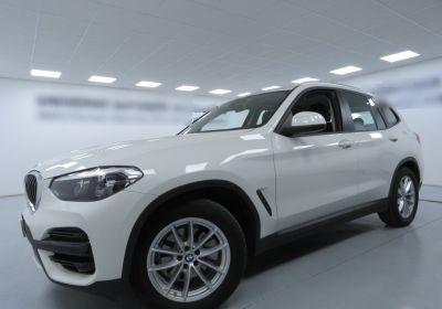 BMW X3 sdrive18d Business Advantage auto Alpinweiss III  Usato Garantito