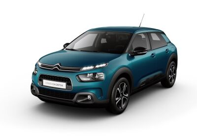 CITROEN C4 Cactus 1.2 puretech Feel Pack s&s 110cv Emerald Blue Km 0