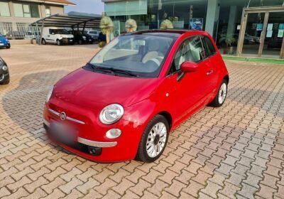 FIAT 500 1.3 mjt 16v Lounge 95cv my14 Rosso Passione Usato Garantito