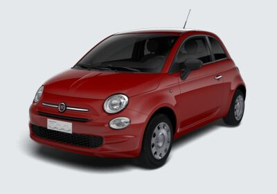 FIAT 500 1.2 EasyPower Pop Rosso Passione Km 0