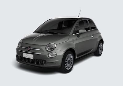 FIAT 500 1.2 Lounge 69cv Grigio Pompei Km 0