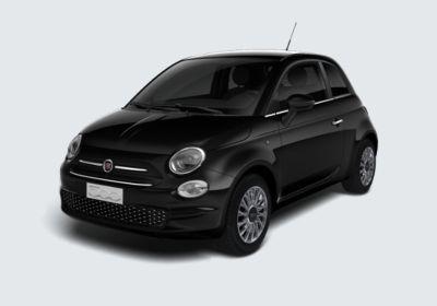 FIAT 500 1.2 Lounge 69cv Nero Vesuvio Km 0