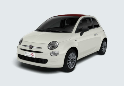 FIAT 500C 1.2 Lounge Bianco Gelato Km 0