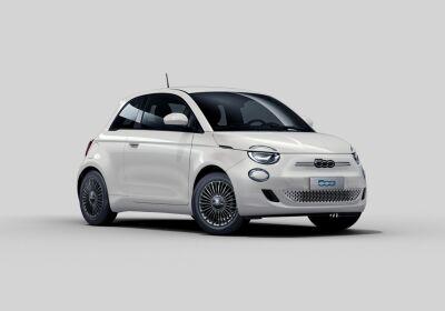 FIAT 500e Icon Bianco Gelato Km 0