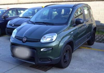 FIAT Panda 0.9 TwinAir Turbo S&S 4x4 Verde Toscana Usato Garantito