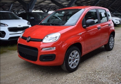 FIAT Panda 0.9 TwinAir Turbo Natural Power Easy Rosso Passione Km 0