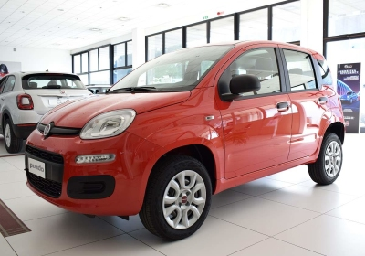 FIAT Panda 0.9 TwinAir Turbo Natural Power Easy Rosso Amore Km 0