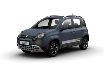 FIAT Panda 1.0 hybrid Cross s&s 70cv 5p.ti Blu Ceramico Km 0