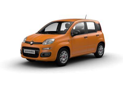 FIAT Panda 1.0 hybrid s&s 70cv Arancio Sicilia Km 0