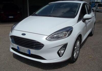 FORD Fiesta 1.1 85 CV 5 porte Titanium Frozen White Usato Garantito