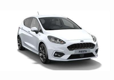 FORD Fiesta 5p 1.1 ST-line 85cv my19.5 Frozen White Km 0