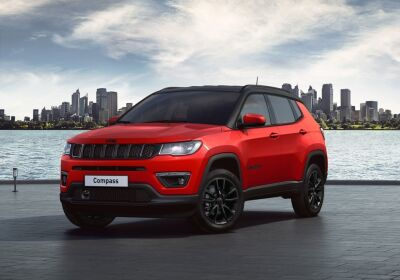 JEEP Compass 1.3 turbo t4 Night Eagle 2wd 150cv ddct Colorado Red Km 0