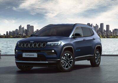 JEEP Compass 1.3 turbo t4 phev Limited 4xe auto Blue Shade Km 0