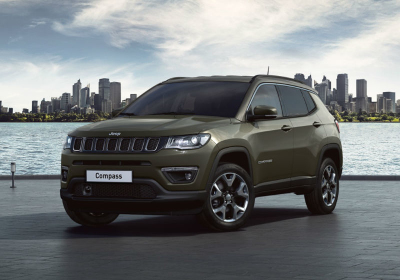 JEEP Compass 1.4 MultiAir 2WD Limited MY19 Olive Green Km 0