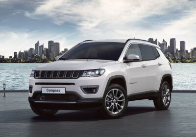 JEEP Compass 1.6 Multijet 2WD Limited Alpine White Km 0
