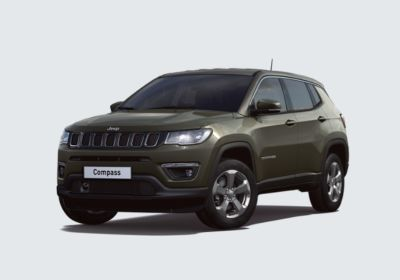 JEEP Compass 1.6 Multijet II 2WD Longitude Olive Green Km 0