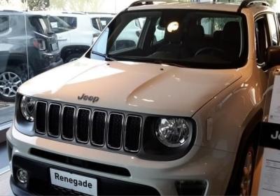 JEEP Renegade 1.6 Mjt 120 CV Limited MY19 Alpine White Km 0