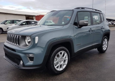 JEEP Renegade 1.6 Mjt 120 CV Limited MY19 Anvil Grey Km 0
