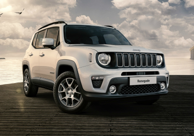 JEEP Renegade 1.6 Mjt 120 CV Longitude MY19 Alpine White Km 0