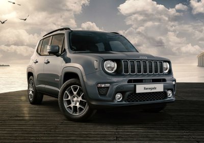 JEEP Renegade 1.6 Mjt 120 CV Longitude MY19 Anvil Grey Km 0