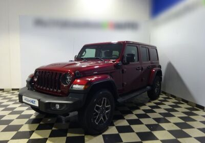 JEEP Wrangler Unlimited 2.0 PHEV ATX 4xe 80th Anniversary Snazzberry Pearl Km 0