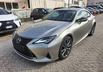 LEXUS RC Hybrid F Sport CVT Sonic Titanium Km 0