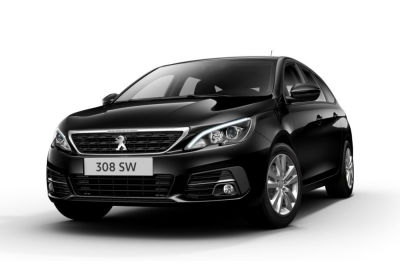 PEUGEOT 308 BlueHDi 130 EAT8 S&S SW Active Nero Perla Km 0