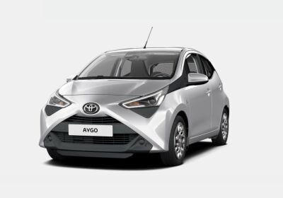 TOYOTA Aygo 1.0 VVT-i 72 CV 5 porte x-play Satin Silver Km 0