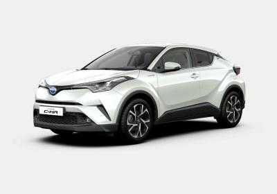 TOYOTA C-HR 1.8 Hybrid E-CVT Trend Pearl White Km 0
