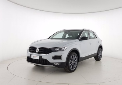 VOLKSWAGEN T-Roc 1.5 TSI ACT Advanced BlueMotion Technology White Silver Km 0